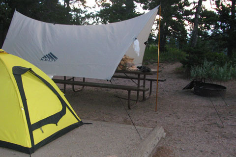 Car Tarp set up in c&ground : adjustable height tent poles - memphite.com