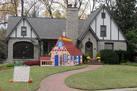 The Hansel and Gretel house