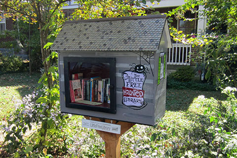 the Little Free Haunted Library
