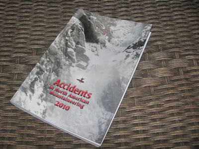 Accidents in North American Mountaineering book