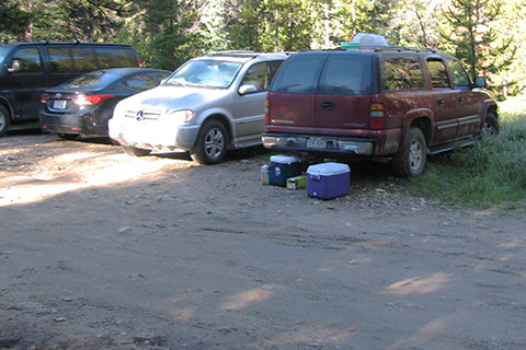 Mount Elbert Overflow parking area