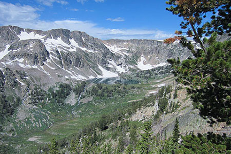 North Fork of Cascade Canyon